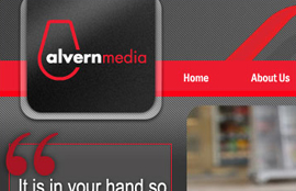 Alvern Media website