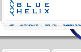 Blue Helix website