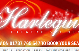 Harlequin Theatre website